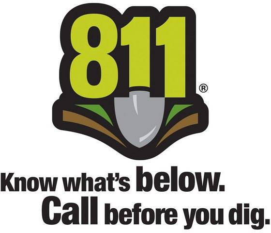 811 Know what's below, call before you dig
