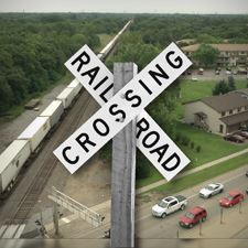 Hanson Blvd. Railroad Crossing