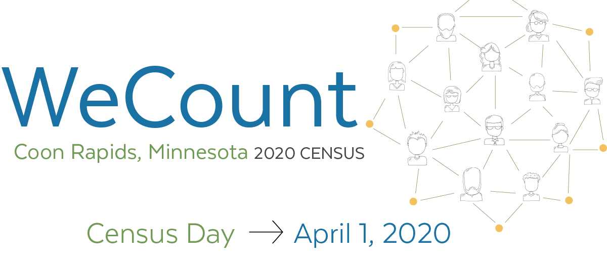 Census 2020 - We Count Graphic